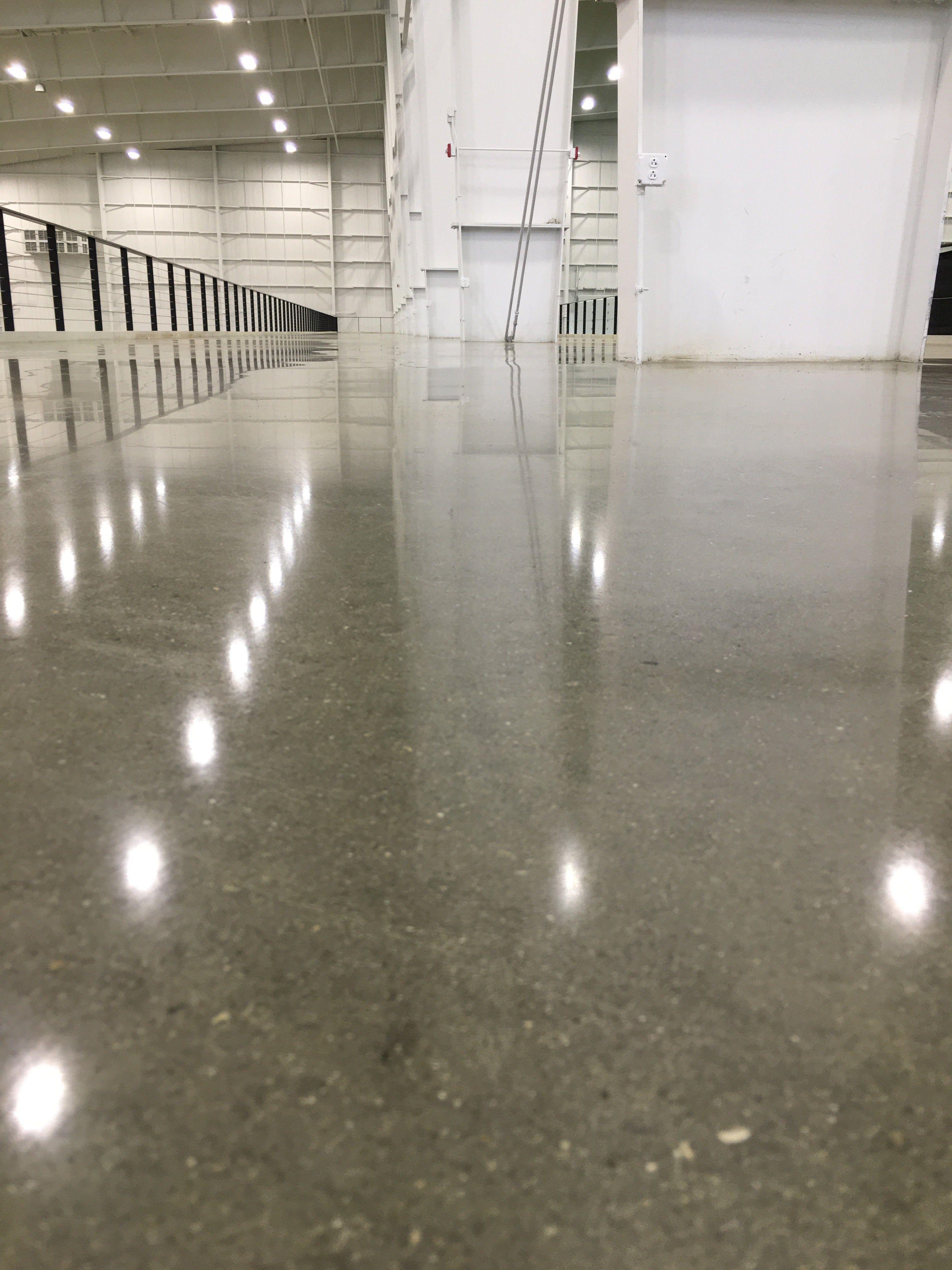 Indianapolis concrete floor polishing 18 grey rock for Concrete flooring service