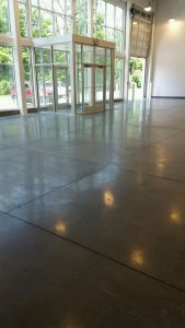 Indianapolis concrete floor polishing